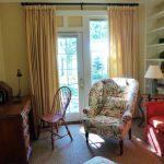 Photo: Sitting room and desk at Bracken Cottage