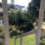 Photo: View from the deck at Cove Cottage