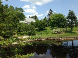 Photo: View of Cove Cottage from a distance