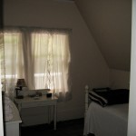 Photo: View of bedroom 5 with single bed at Gruesome Gables