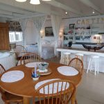 Photo: View of the dining area at Castine Cottage