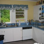Photo: View of the kitchen at Gruesome Gables