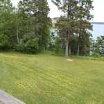 Photo: View of the lawn and water at Seaview