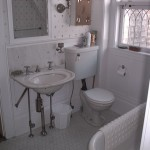 Photo: View of the master bath at Gruesome Gables