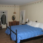 Photo: View of the master bedroom at Gruesome Gables