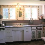Photo: View of the kitchen at Forest Farm
