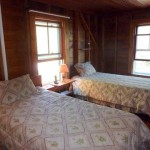 Photo: View of upstairs guest room at the Flying Jib