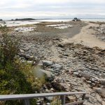 Photo: Herrick Bay Beach low tide near Flying Jib