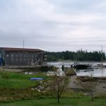 Photo: View of Brooklin Boat Yard from Harbor's Edge