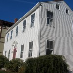 Photo: Exterior front view of Jonathan Lowder House
