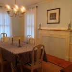 Photo: View of dining room at Jonathan Lowder House