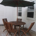 Photo: View of the deck at Jonathan Lowder House