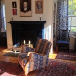 Photo: View of the living room at Jonathan Lowder House
