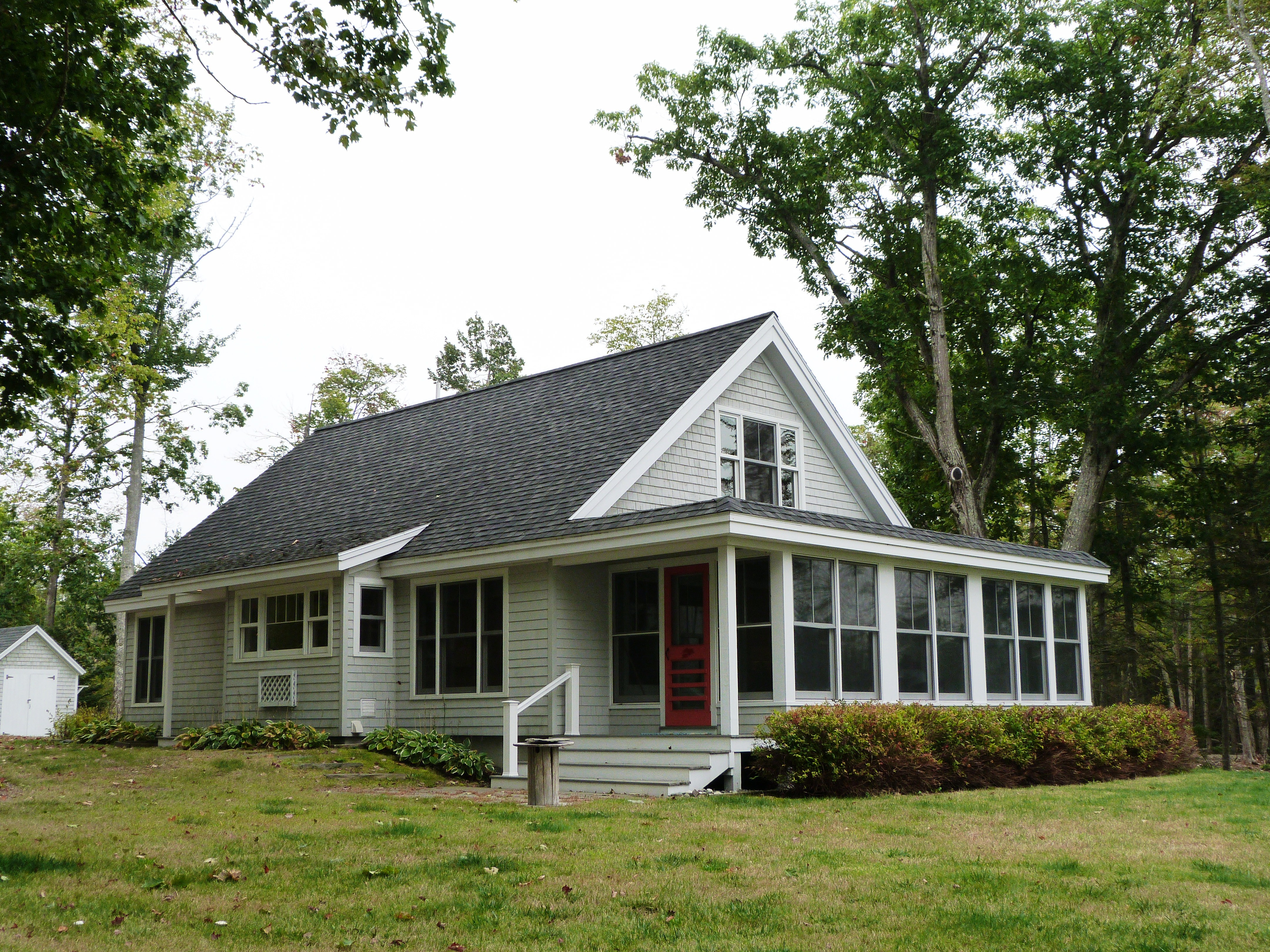 maine financing lake with waterfront schoodic sale for cottages owner home watch lakefront