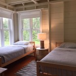 Photo: View of bedroom 2 at Seaglass Cottage