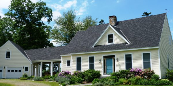 Photo: Lovely exterior view of West Winds