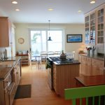 Photo: View of the kitchen at West Winds