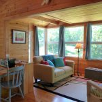 Photo: View of the living space at Cottage by the Sea
