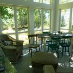 Photo: Another view of the porch at Bracken Cottage