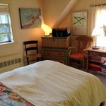 Photo: Bedroom 1 upstairs at Cove Cottage