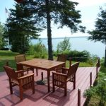 Photo: Deck and water view at Benjamin Point