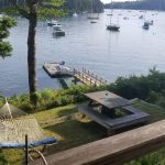 Photo: Dock and lawn view from The Barnacle