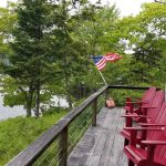 Photo: Expansive deck view at The Barnacle