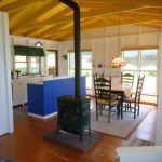 Photo: Kitchen and dining area at Benjamin Point