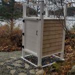 Photo: Outdoor shower at The Barnacle