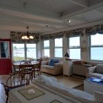 Photo: View 1 of the living space at Castine Cottage