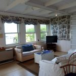 Photo: View 2 of the living space at Castine Cottage
