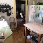 Photo: View of the kitchen at Nan's Caper