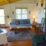 Photo: View of the living space at Benjamin Point