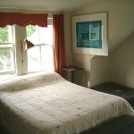 Photo: View of the master bedroom at Forest Farm