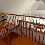 Photo: Staircase in second floor master bedroom at Quiet Harbor