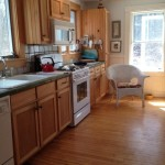 Photo: View 2 of the kitchen at Perkins Cottage
