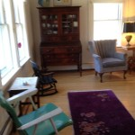 Photo: View 2 of the living room at Perkins Cottage
