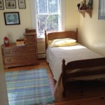 Photo: View of bedroom 3 upstairs at Perkins Cottage