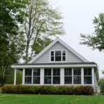 Photo: Exterior front view of Seaglass Cottage