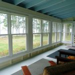 Photo: View 2 of the porch at Seaglass Cottage