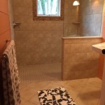 Photo: View of a bathroom at Seaglass Cottage
