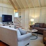 Photo: View of living area at Seaglass Cottage