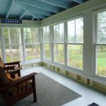 Photo: View of the porch at Seaglass Cottage