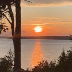 Photo: Beautiful sunset at West Winds