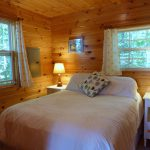 Photo: View of the bedroom at Cottage by the Sea