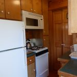 Photo: View of the kitchen at Cottage by the Sea