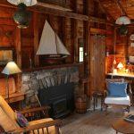 Photo: Fireplace at Sunrise Cottage