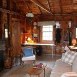 Photo: Living area at Sunrise Cottage