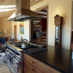 Photo: View 2 of the kitchen at Wind Whistle Farm
