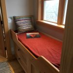Photo: View of the day bed at Wind Whistle Farm